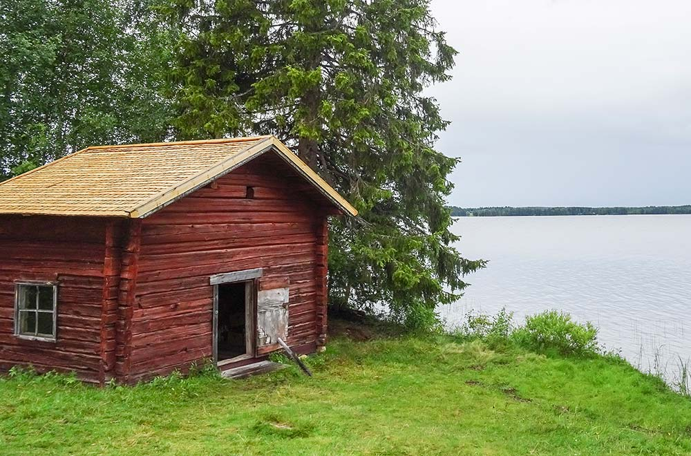 Kalle Päätalo's childhood home